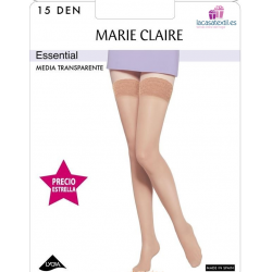 PACK-3 Panty MARIE CLAIRE Transparente ESSENTIAL