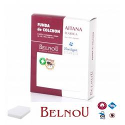 Funda de Colchón AITANA Antiácaros Rizo 100% Algodón Elástica BELNOU 3 colores a la venta (Varios tamaños disponibles )