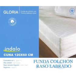 Funda de Colchón CUNA Cutí GLORIA Blanco 60x120 COTOPUR