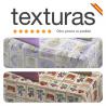 TEXTURAS HOME - Mantel Antimanchas Impermeable Loneta RESINADA Estampada (Varios tamaños disponibles)