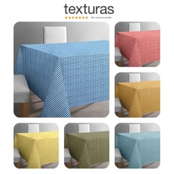 TEXTURAS HOME - Mantel Antimanchas TEFLÓN NOTE COLORS Impermeable ( Varios tamaños disponibles )