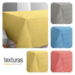 TEXTURAS HOME - Mantel Antimanchas TEFLÓN VICHY Impermeable