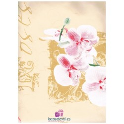 Mantel Hule Colect 140x140 Texturas Flor Pastel