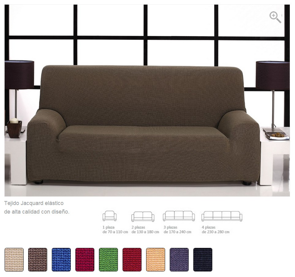 Fundas ajustables para sofas simple funda de sof with fundas ajustables para sofas best funda - Fundas para sofa ...