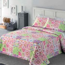 FUNDECO - Summer Bedspread Bouti SABRINA + 1 Cuadrantes ( Varios tamaños disponibles)