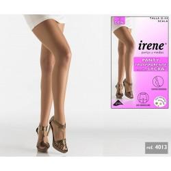 IRENE Pantys y Medias - Panty Transparente con fibra LYCRA 4013