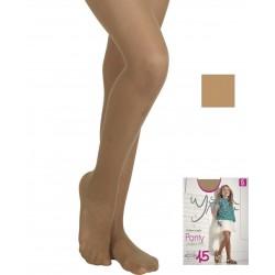 YSABEL MORA - Panty INFANTIL LINEA ACTIVA 15 DEN Semimate Transparente 36406