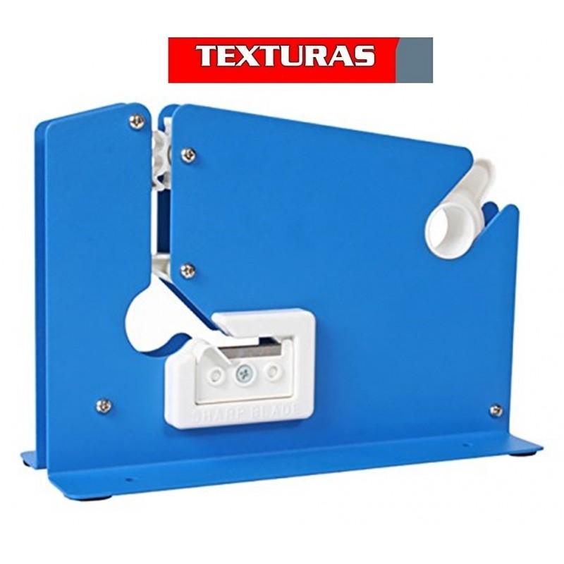 TEXTURAS BASICS - Precintadora Cierrabolsas + 2 Rollos Adhesivos 12 mm de Regalo