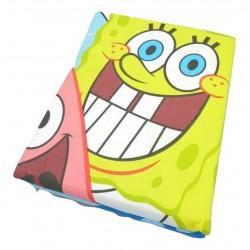 Nickelodeon - Dúo Funda nórdica + almohada BOB ESPONJA ( 2 tamaños disponibles )