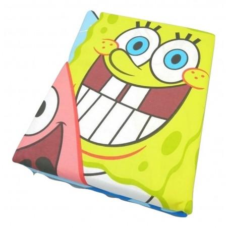Nickelodeon - Dúo Funda nórdica + almohada BOB ESPONJA ( Cama 90 )