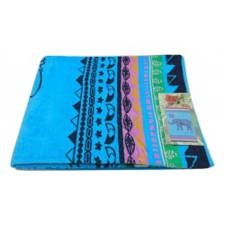 TEXTURAS SUN&SURF - Toalla Playa 450 b Multicolor 95x175 SINGLE
