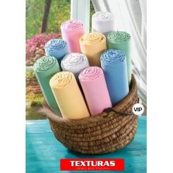 TEXTURAS VIP - Sábana Bajera Adaptable 100% Algodón Alta Calidad ( Varios tamaños disponibles )