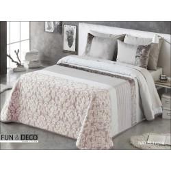 FUNDECO - BEDSPREAD Colcha Verano ANTILO SEIMA Beige Summer Quilt ( Varios tamaños disponibles )