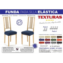 TEXTURAS VIP- Funda de sofá Elástica LOW COST  ( Varios tamaños disponibles )