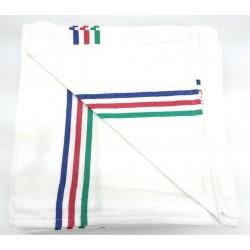 TEXTURAS HOME - (Pack x 6 ) Paño cocina gigante algodón 100% blanco 55x60 cms