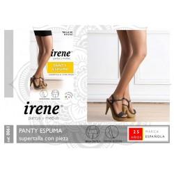 IRENE Pantys y Medias - Panty ESPUMA Supertalla con pieza 0061