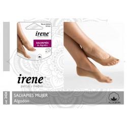 IRENE - ( Pack-3 x 2 pares ) Salvapiés Algodón para mujer TALLA ÚNICA Color Scala 2426