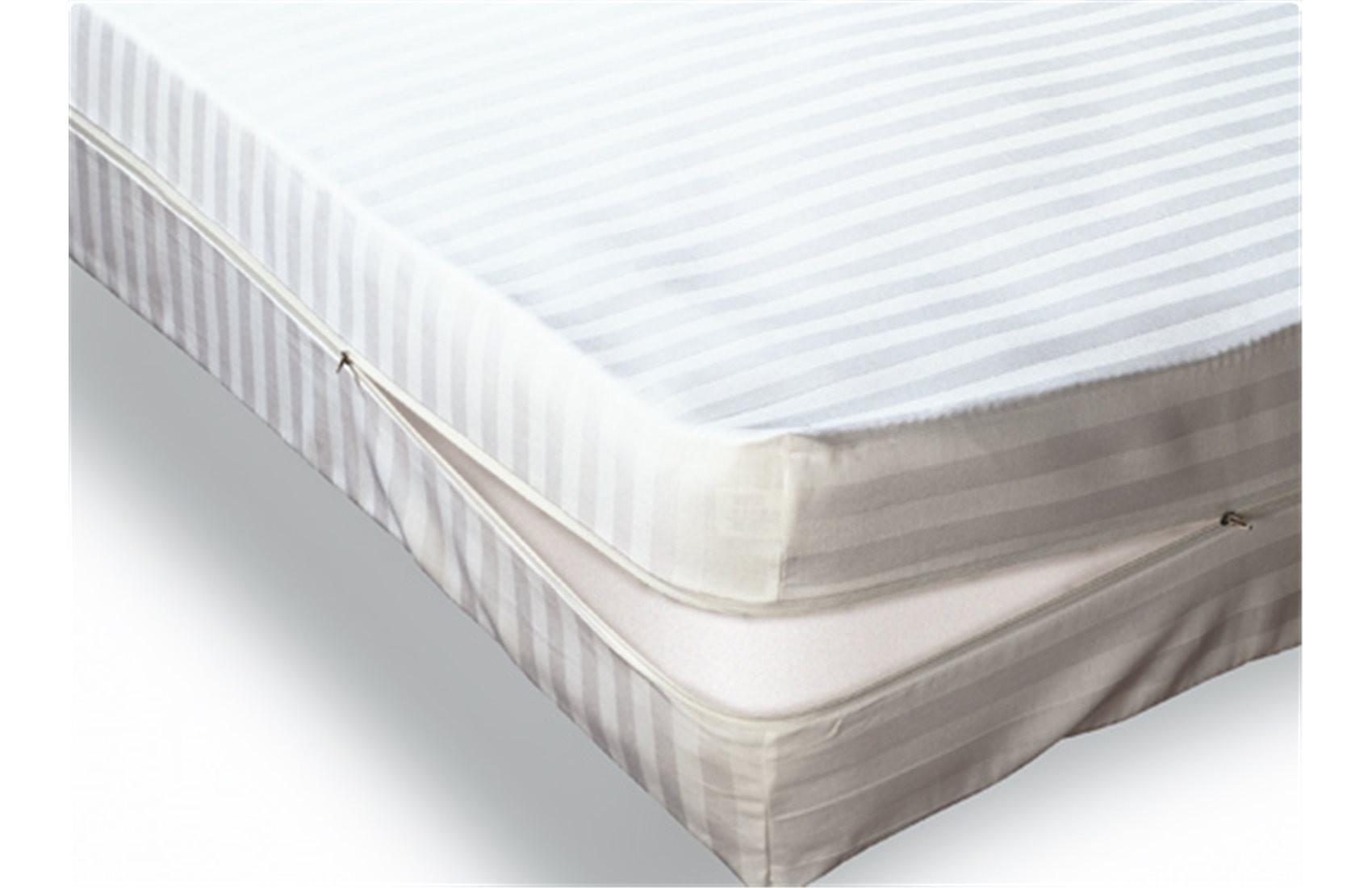 Funda-colchón-cuty-raso-listado-cremallera-blanca-universal-blanco