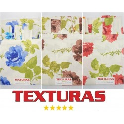 TEXTURAS HOME - Cortina de loneta estampada SEVILLA 260X150 cms ( Varios colores disponibles )