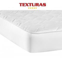 TEXTURAS BASICS - Protector de Colchón ACOLCHADO de microfibra para Hotel y Apartamentos ECONOMY ( Varios tamaños disponibles )