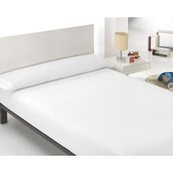 ONE PRICE - Juego de sábanas 3 piezas Microfibra TRANSPIRABLE de color blanco