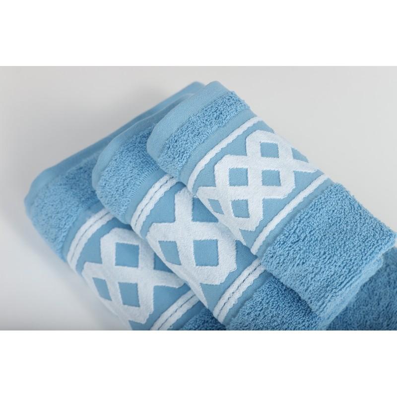 Juego de toalla 3 piezas OCEAN MIX  400 gr.