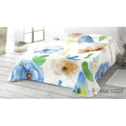 MANTEROL - Manta de cama TERCIOPELO 528  Malva GALA 240X240 cms