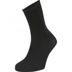 YSABEL MORA - Pack 2 pares Negro Calcetín Alto CONFORT BAMBÚ sin puño Fresh Control ( Hombre y mujer )