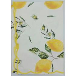 Mantel Resinado Limones...