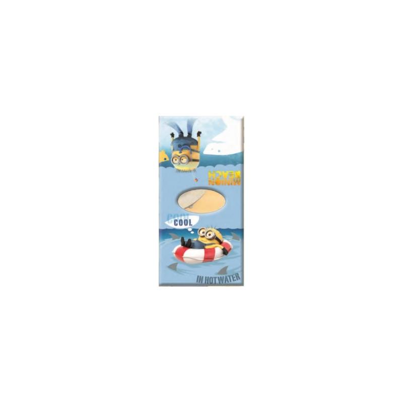Poncho de Playa Algodón 100% Disney MINIONS MN7 COOL 60X110