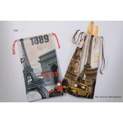 Bolsa de Pan IDEAL TEXTIL 35X62 France 7260 ( Rojo o Amarillo )
