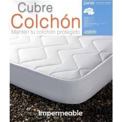 Protector Colchón Acolchado TELA/PVC IMPERMEABLE ZAFIR ( Varios tamaños disponibles )