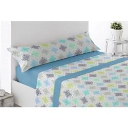 Juego de sábanas Térmica Invierno Ohanes Azul 120 gr