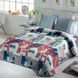 FUNDECO - Summer Bedspread Bouti BRODWAY + 1 Cuadrantes ( Varios tamaños disponibles)