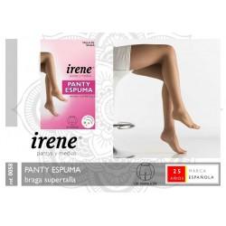 IRENE Pantys y Medias - Pack 2 unidades Panty ESPUMA Braga Supertalla 0058