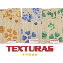 TEXTURAS HOME - Cortina de loneta estampada MILAN 260X150 cms ( Varios colores disponibles )