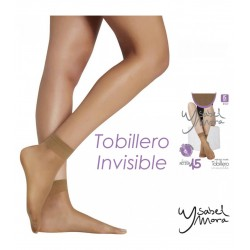YSABEL MORA - Pack 2 pares MINI MEDIA TOBILLERO Invisible LINEA ACTIVA 15 DEN 15154