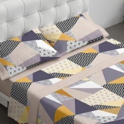 Burrito Blanco - Juego de sábanas 098 Beige de 90x190/200 cm