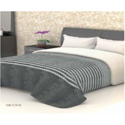 B&G - Manta Conforter SAONA Interior SHERPA Extrasuave Gris ( 240x240 cms )