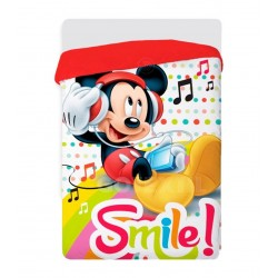 QUILT WINTER Edredón Nórdico DISNEY Mickey Mouse SMILE Multicolor 180X260 CMS ( camas de 90/105)